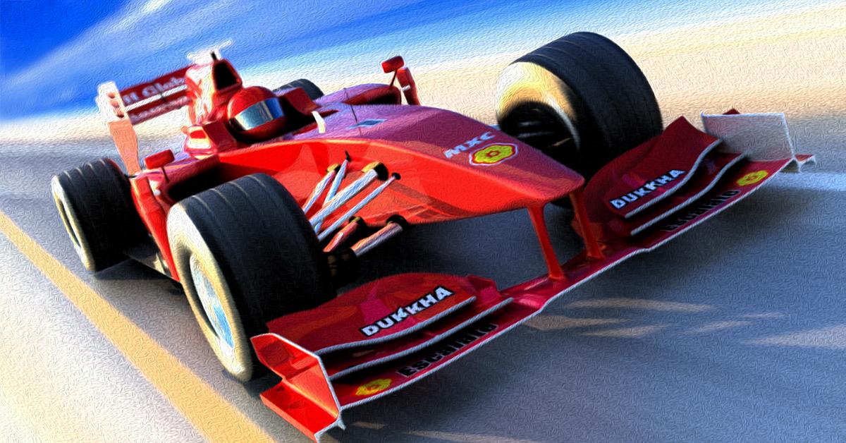 Racecar illustration
